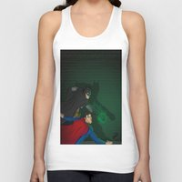 justice Tank Tops featuring Justice by David Dino