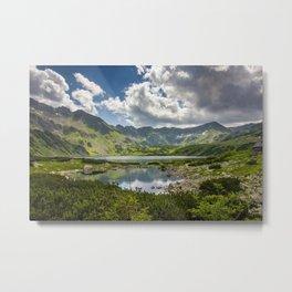 Mountain Lakes Metal Print