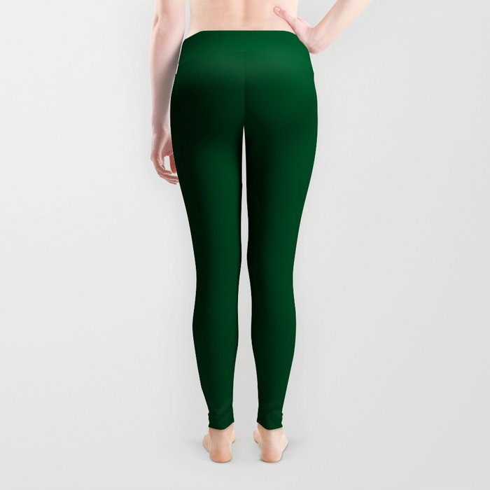 Forest Green (Traditional) - solid color Leggings