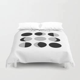 Phases of the Moon Duvet Cover