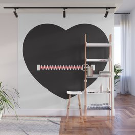 Heart Shut Up! by Thom Van Dyke Wall Mural