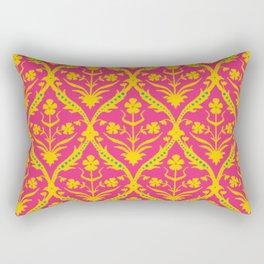 Kala trellis ikat Rectangular Pillow