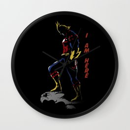 All Might Hero Pose Wall Clock