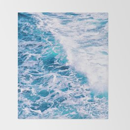 My Inner Sea Throw Blanket