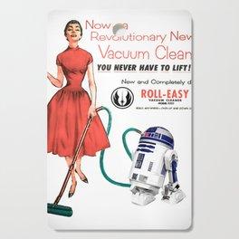 R2D2 Vacuum Cutting Board