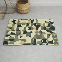 Abstract Geometric Artwork 39 Rug