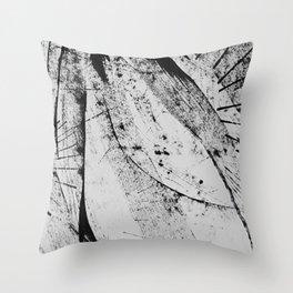 ink EIGHT Throw Pillow