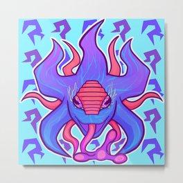 Blotter art 1-Neuros Metal Print