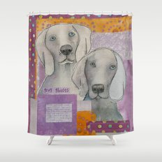 The Grey Ghosts Shower Curtain