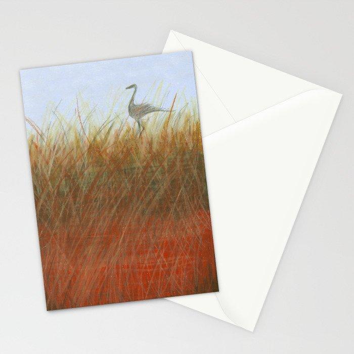 Autumn Marsh Stationery Cards
