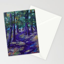 The Forest Path Stationery Cards
