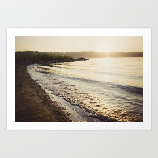 Shore Color Art Print