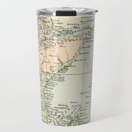 North East Africa Vintage Map Travel Mug