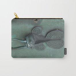 Green Fish Carry-All Pouch