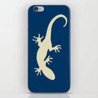 lizard iPhone & iPod Skins featuring Lizard by Abundance