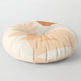 Abstraction_SUN_NATURE_Minimalism_001 Floor Pillow