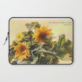You Shall Love Your Neighbor As Yourself Laptop Sleeve