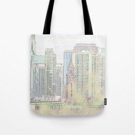 Lackawanna - Hoboken Terminal Tote Bag