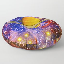 Stars and Planets Floor Pillow