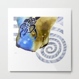 Sky Spirit - Earth, Sky and Sea Metal Print