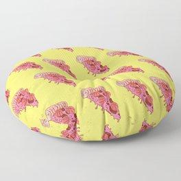 BASKETBALL PIZZA (Pattern) Floor Pillow