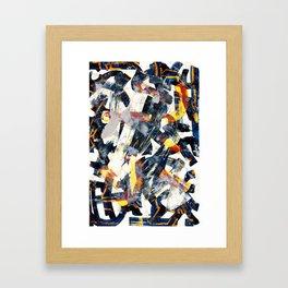Pattern № 42 Framed Art Print