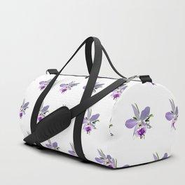 Purple Orchid Duffle Bag