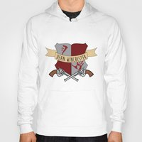 dean winchester Hoodies featuring Dean Winchester Crest by Andi Robinson