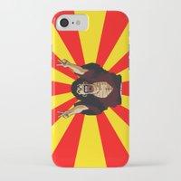 satan iPhone & iPod Cases featuring Mr Satan by husavendaczek
