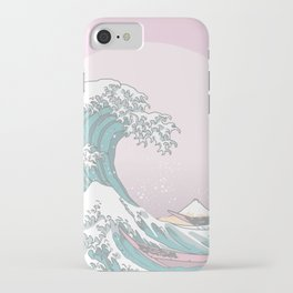 Great Wave Pastel iPhone Case