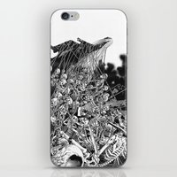 scary iPhone & iPod Skins featuring Scary Soul by bimorecreative