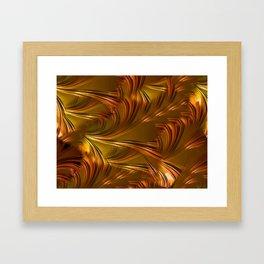 DAMN HOT! Framed Art Print
