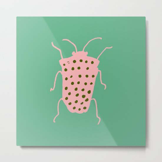 arthropod aqua Metal Print