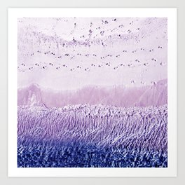 Natural levels Art Print