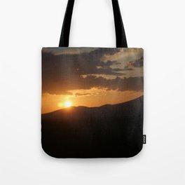Smith Rock Sunrise Tote Bag