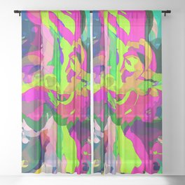 Unicorn Sheer Curtain