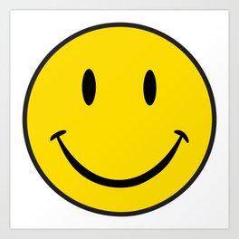 Smiley Happy Face Kunstdrucke