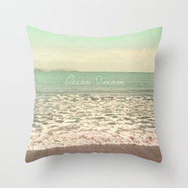 Ocean Dream I Throw Pillow