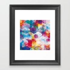 Cuben Curved #4 Framed Art Print