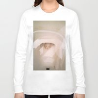 toilet Long Sleeve T-shirts featuring TOILET SCUM CUPID by JANUARY FROST