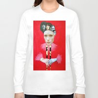 baroque Long Sleeve T-shirts featuring Baroque by Mimi Rico