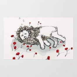 Cowardly Lion Rug