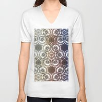 glass V-neck T-shirts featuring GLASS by Zeno Photography