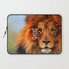 BOLD AS LIONS Laptop Sleeve
