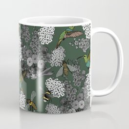 Hummingbirds and Bees (don't let them fade away) Coffee Mug