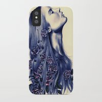 strong iPhone & iPod Cases featuring Bloom by KatePowellArt