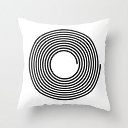 Continuum:1:1 Throw Pillow