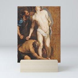 Anthony van Dyck - Study for the Martyrdom of Saint Sebastian Mini Art Print