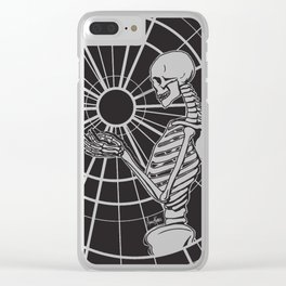 Holding Onto Hope ~ Black Clear iPhone Case