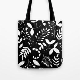 Laurels - Black & White Tote Bag
